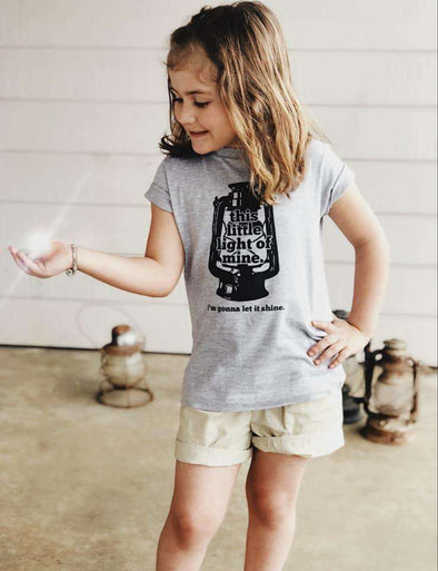 This Little Light of Mine | Kid's T-Shirt | Ruby's Rubbish®