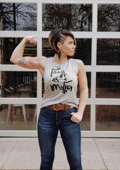 Tough as a Mother | Women's Muscle Tank | Ruby's Rubbish®