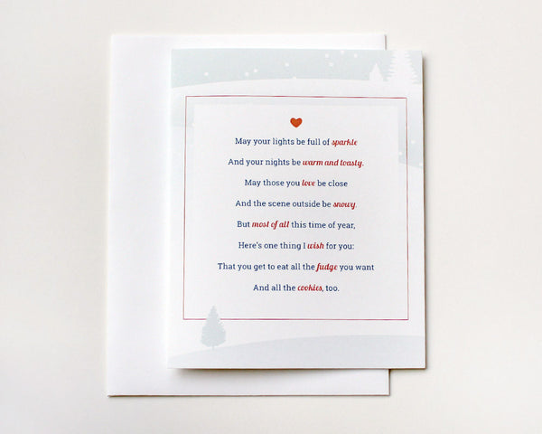 Holiday Poem Card #005