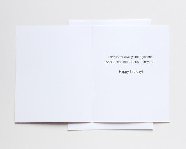 Thanks for Always Being There Birthday Card #015