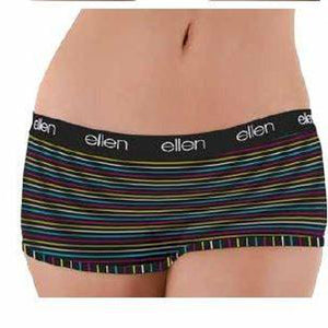Women's Boyshorts Black Stripe - Ellen Degeneres Show Shop - 3