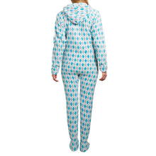 Argyle Adult One-Piece Pajama / Female - Ellen Degeneres Show Shop - 3