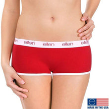 BOYSHORTS UNDERWEAR, RED - Ellen Degeneres Show Shop