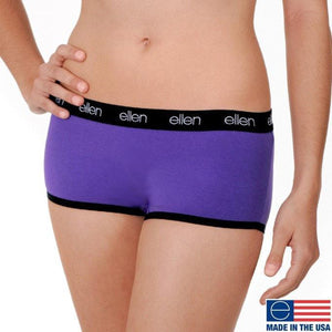 BOYSHORTS UNDERWEAR, PURPLE