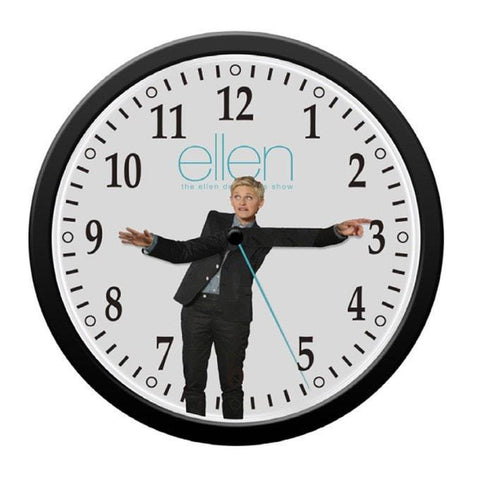 Wall Clock - Ellen Degeneres Show Shop