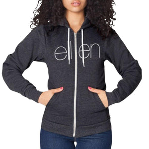 THE CLASSIC HOODIE CHARCOAL / Female - Ellen Degeneres Show Shop - 3
