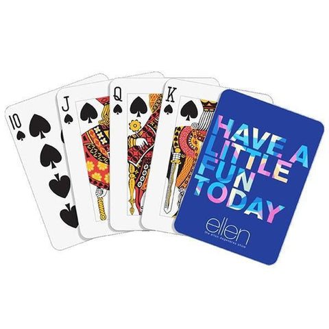 Have a Little Fun Today Playing Cards - Ellen Degeneres Show Shop