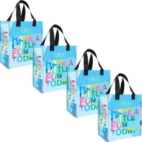 Set of 4 Shopping Bags - Ellen Degeneres Show Shop