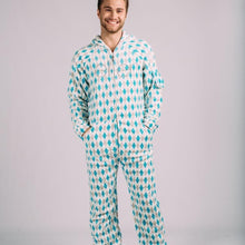 Argyle Adult One-Piece Pajama