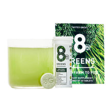 8Greens Effervescent Drink Tablets Dietary Supplement