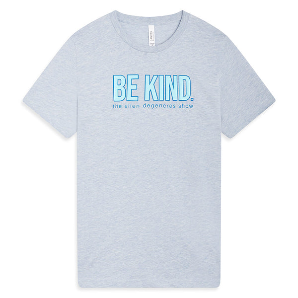 Be Kind Tee - Dusty Blue