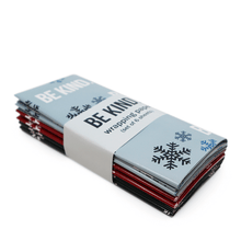 The ellen DeGeneres Show Shop - Be Kind Holiday Wrapping Paper - blue - red - green - front-angle
