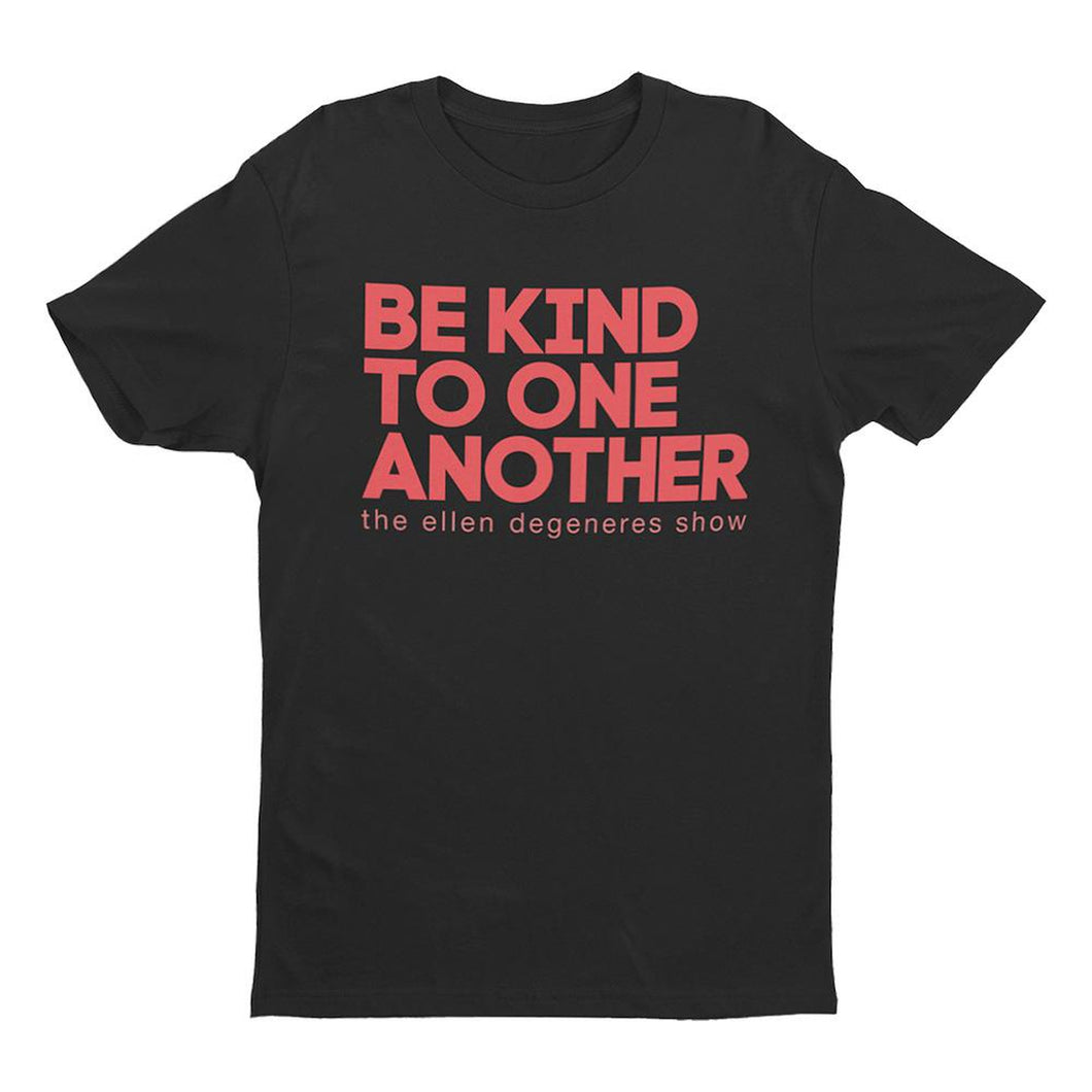 The Ellen DeGeneres Show Shop - Be Kind Black Tee - Black - Front
