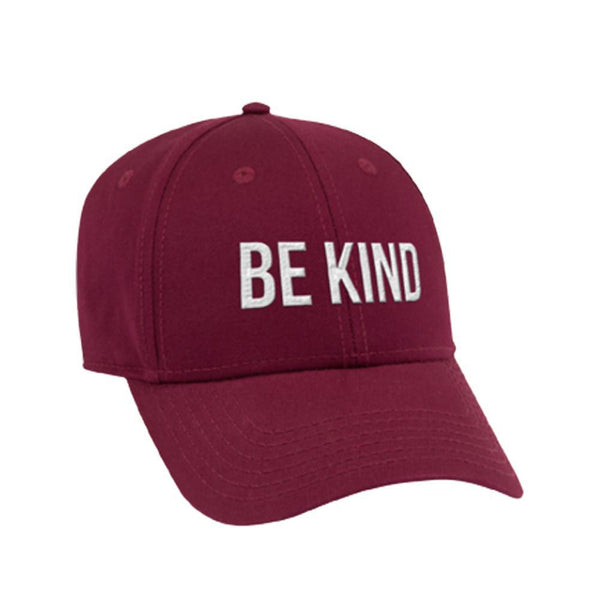 ellen Show Be Kind Hat- Maroon