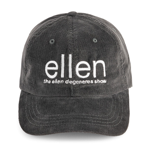 The Ellen Show Corduroy Hat - Grey