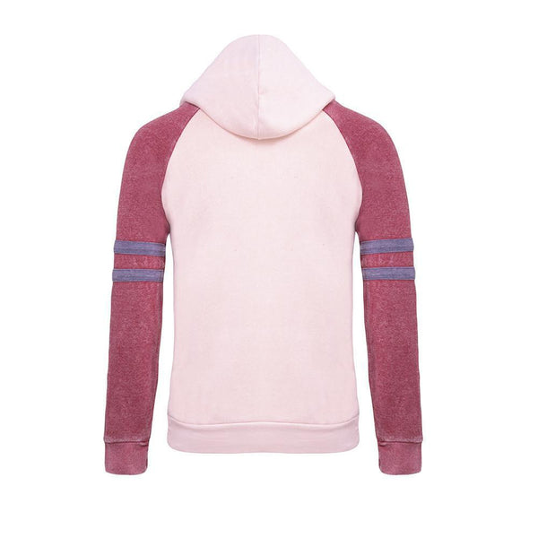 Love Color Block Hoodie