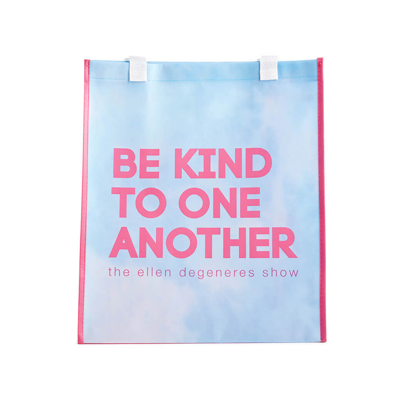 The Ellen Show Be Kind To One Another Blue Multicolor Tote