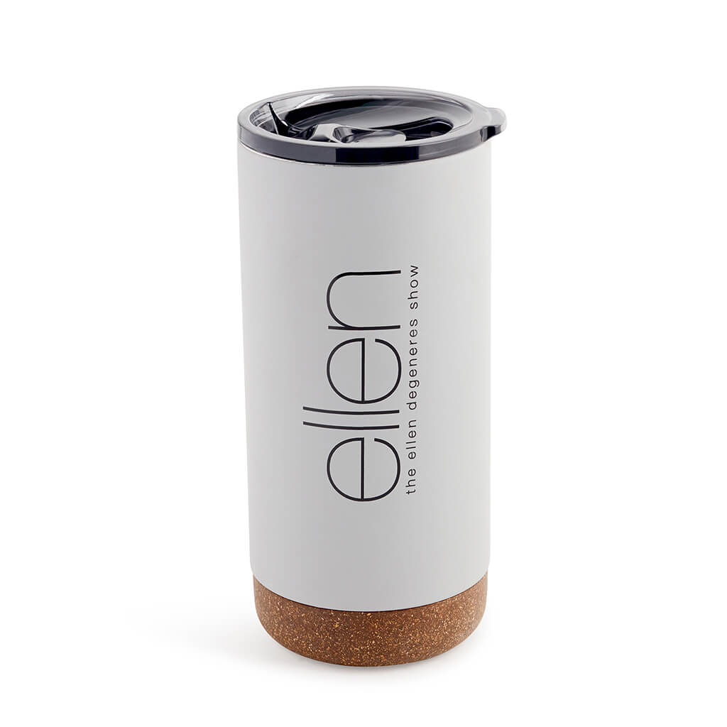 The Ellen Show Cork Tumbler - Grey