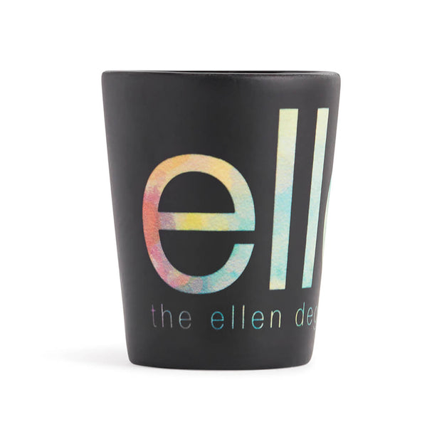 Ellen Show Ceramic Watercolor Shot Glass