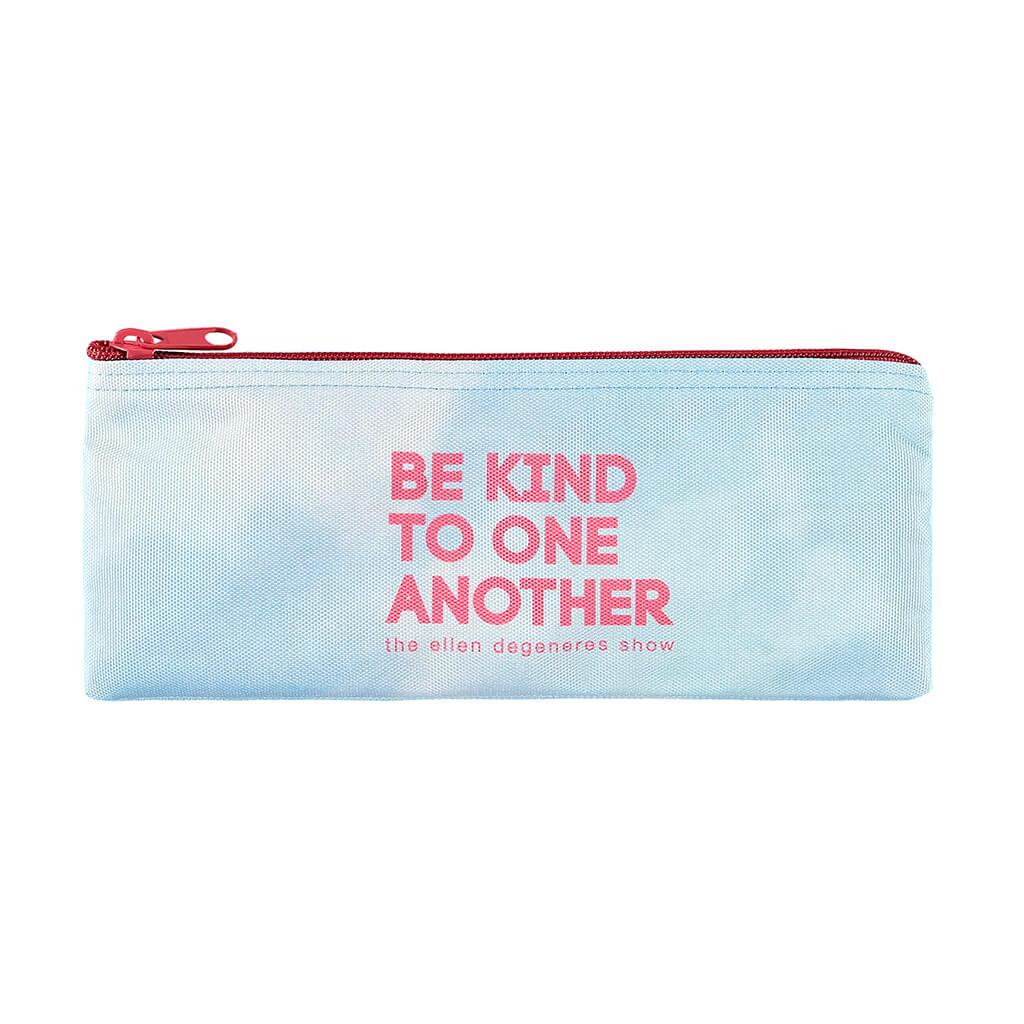 Be Kind Pink Pencil Case