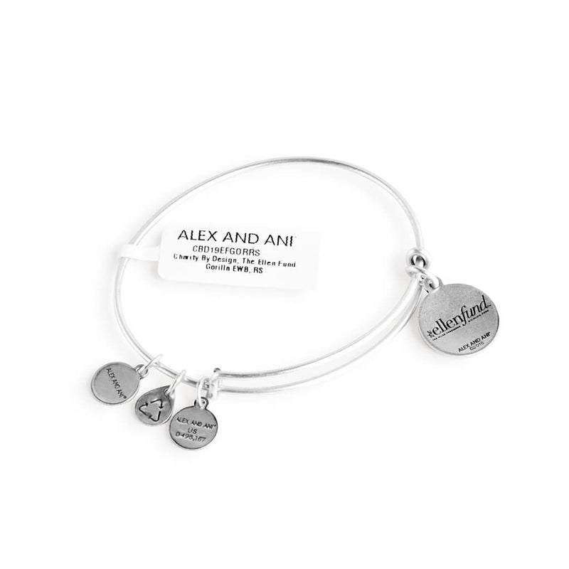 The Ellen Fund Gorilla Charm Bangle