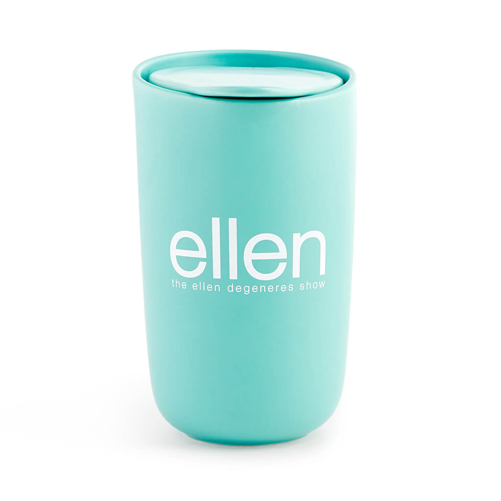 The Ellen Show Mint Ceramic Tumbler