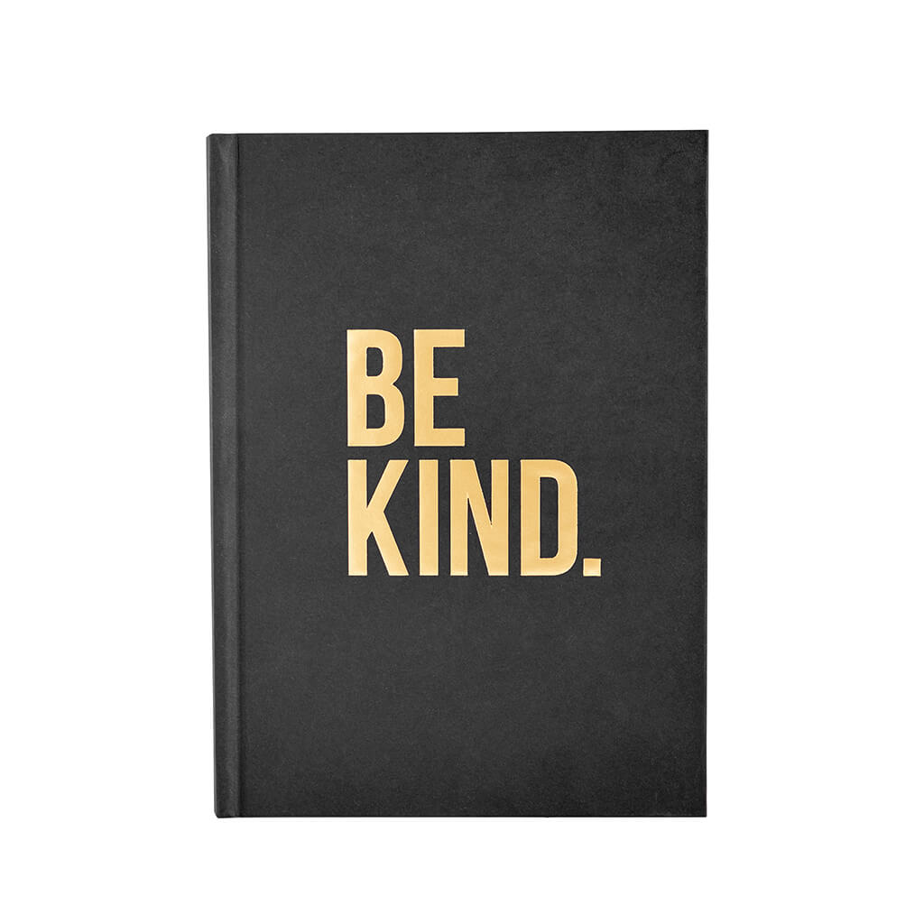 BE KIND. Journal -  Black