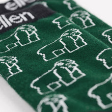 The ellen Fund™ Gorilla Socks - Green