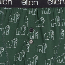 The Ellen Fund Gorilla Boxers - Green