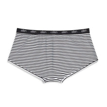 ellen Show Women's Black & White Boyshorts