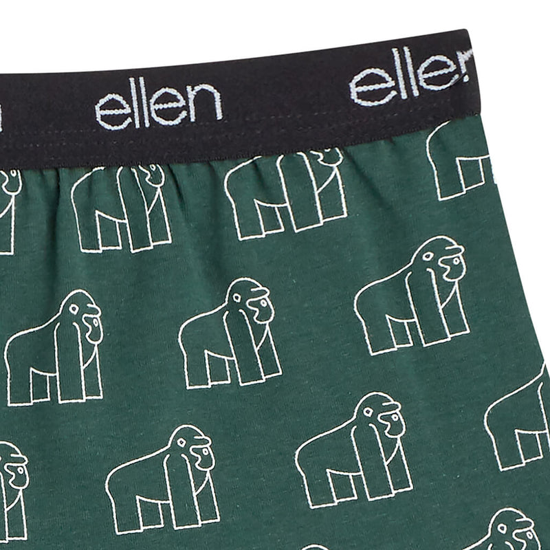 The Ellen Fund Gorilla Boyshorts - Green
