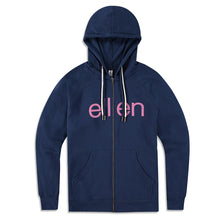 The Ellen Show Zip Up - Indigo