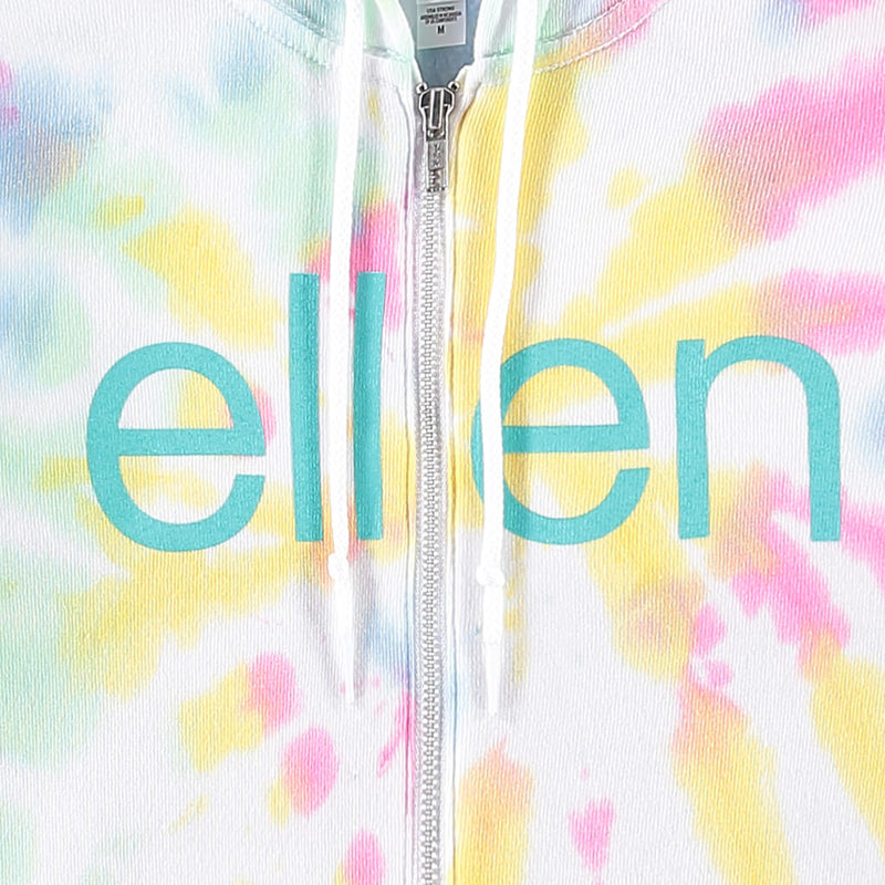 The Ellen Show Tie Dye Zip Up