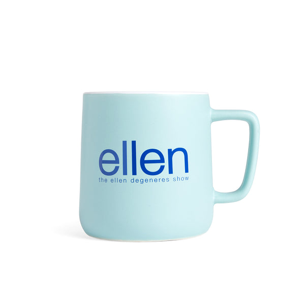 Ellen Show Winter Mug - Blue