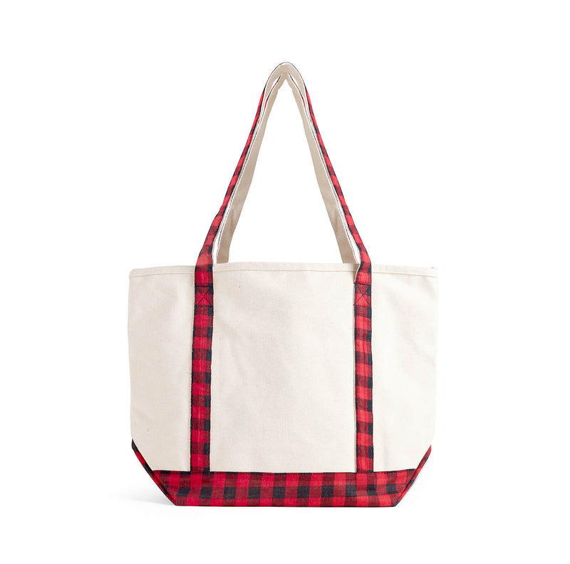 Ellen Show Holiday Plaid Bag