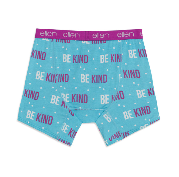 ellen show Be Kind underwear back