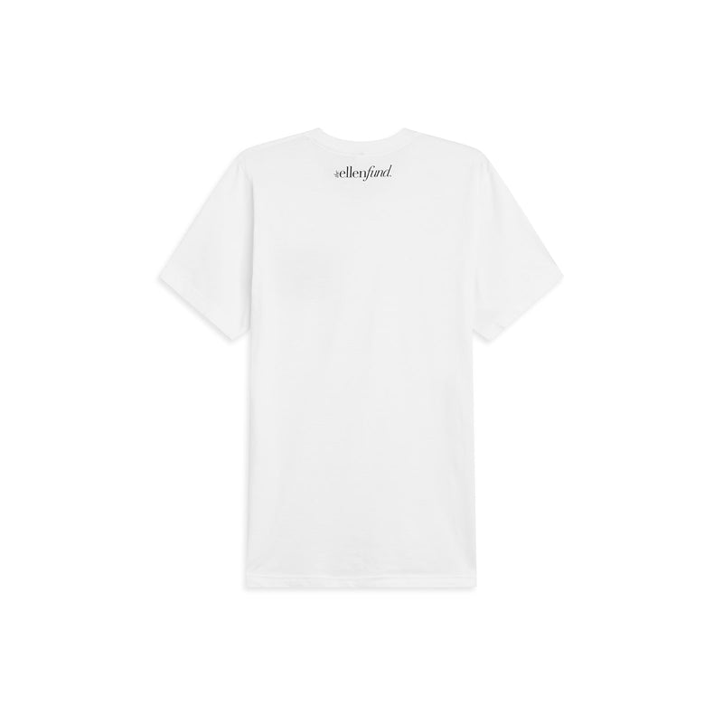 The Ellen Fund Rwandan Tee - White