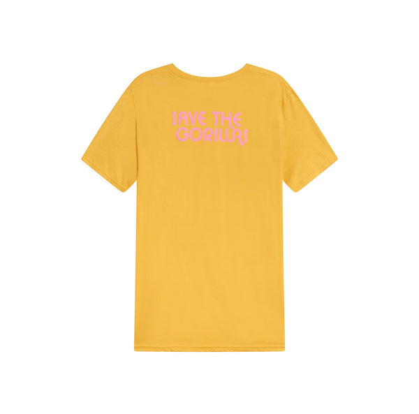 The Ellen Fund Gorilla Tee - Yellow