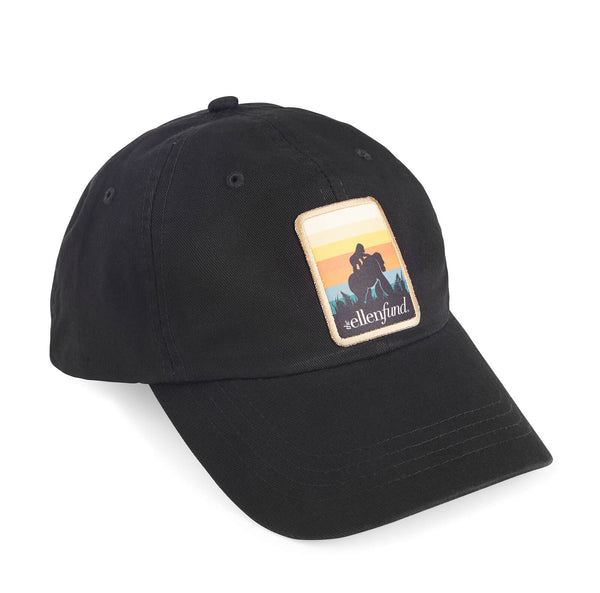 The Ellen Fund Gorilla Summer Hat - Black
