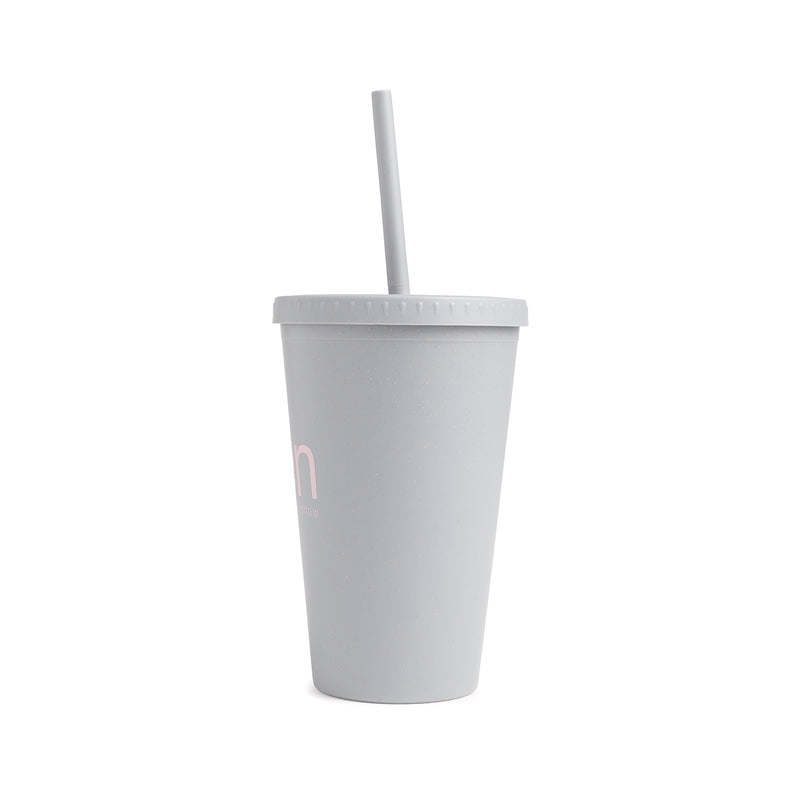 Ellen Show Wheat Cold Cup - Grey