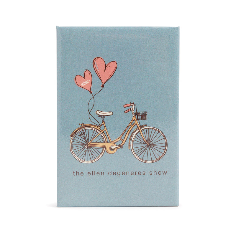 Ellen Show Bicycle Magnet - Blue