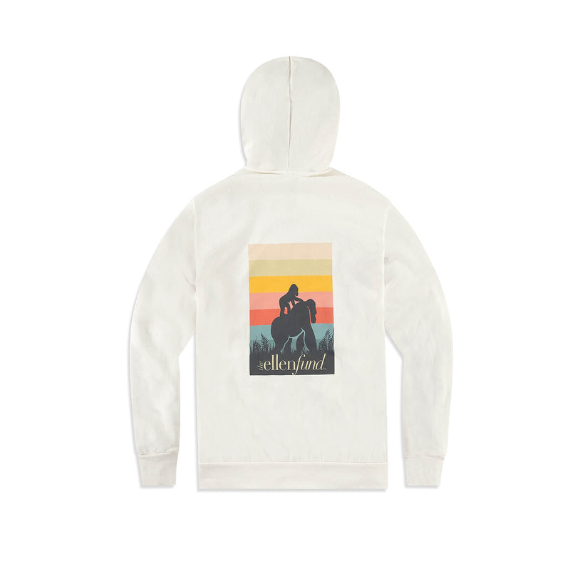 The Ellen DeGeneres Fund Gorilla Summer Zip Up - Bone - back