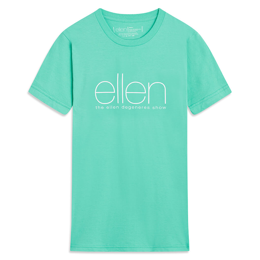 The Ellen Show Crewneck Tee -  Mint