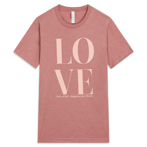 Love Month Tee - Mauve