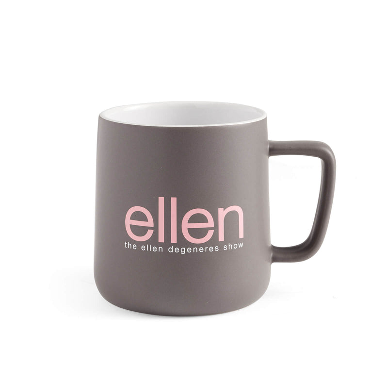 Ellen Show Breast Cancer Awareness Mug - Grey