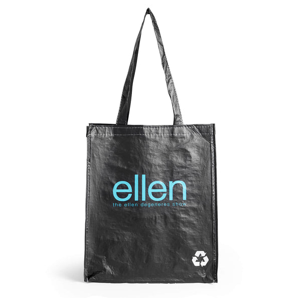 Ellen Show Recycled Tote Bag - Black