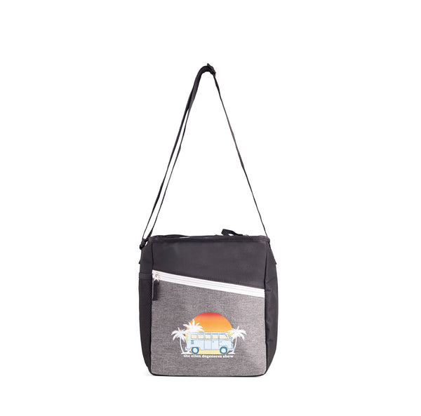 Ellen Show Summer Bus Cooler Bag - Black - front