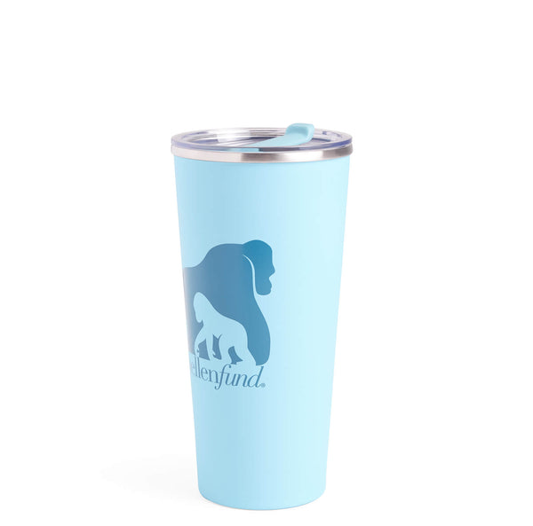 The Ellen DeGeneres Fund Gorilla Stainless Steel Tumbler - Blue - side