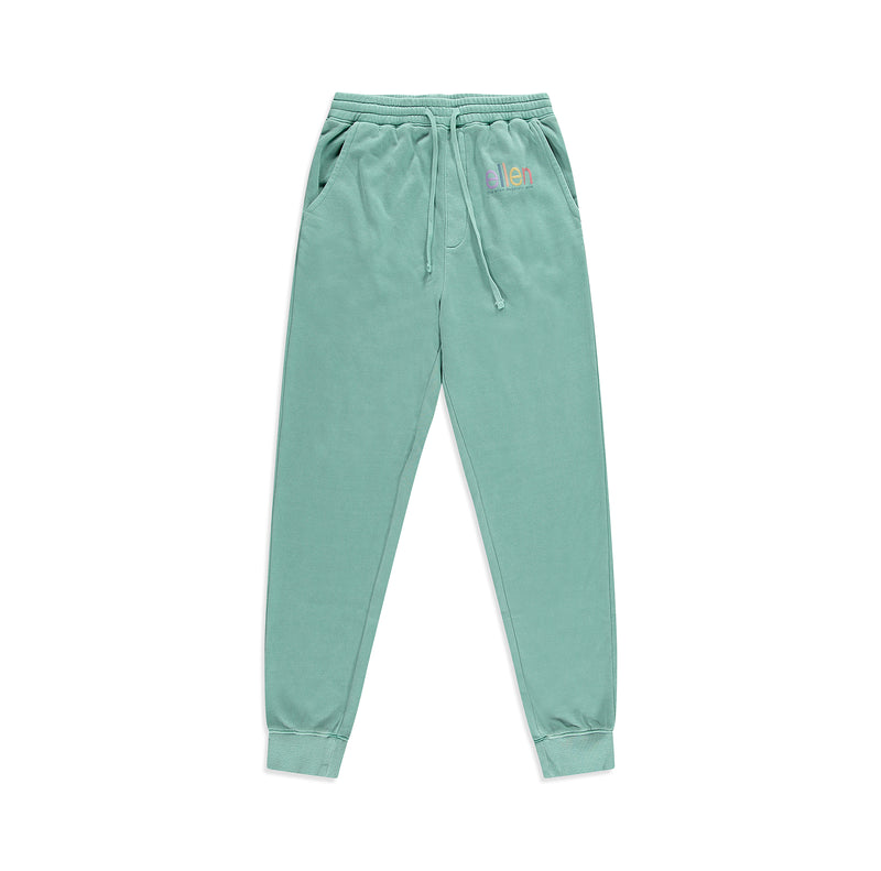 Ellen Show Sweatsuit Pants - Teal