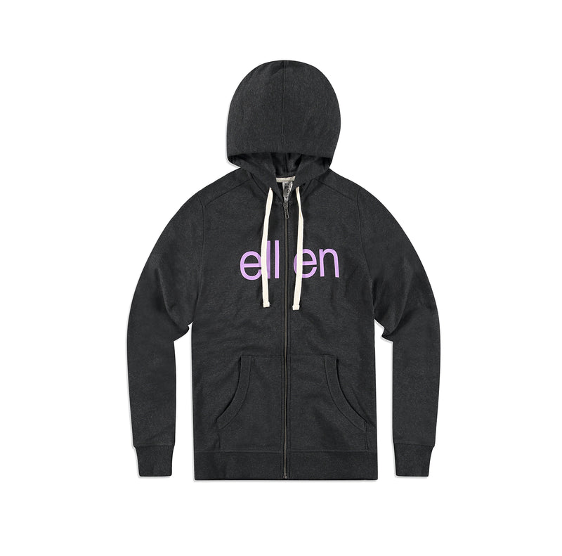 District Re-Fleece Ellen Show Winter Hoodie - Grey